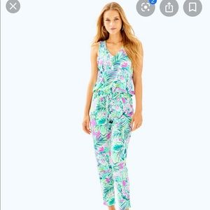 Brand new tags on Lilly Pulitzer jumpsuit